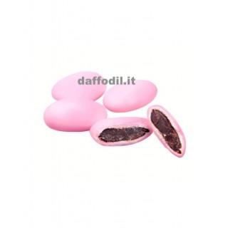5 Confetti rosa al cioccolato