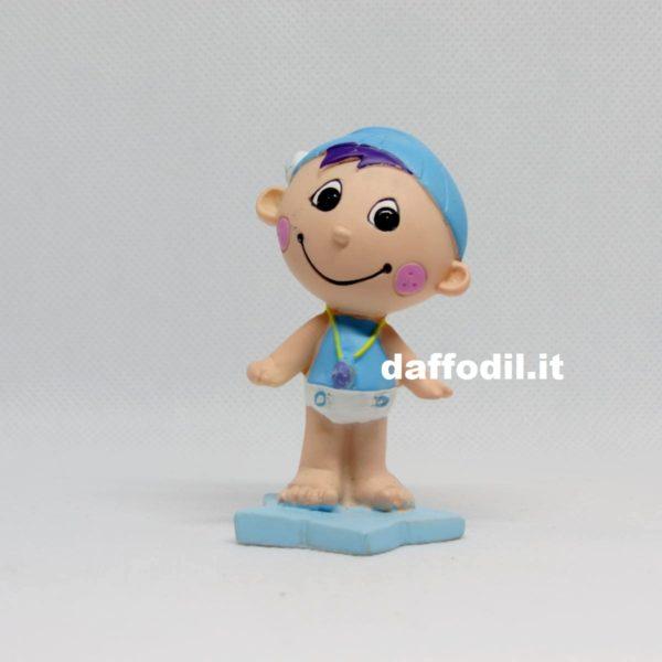 Bimbo Cappello Azzurro