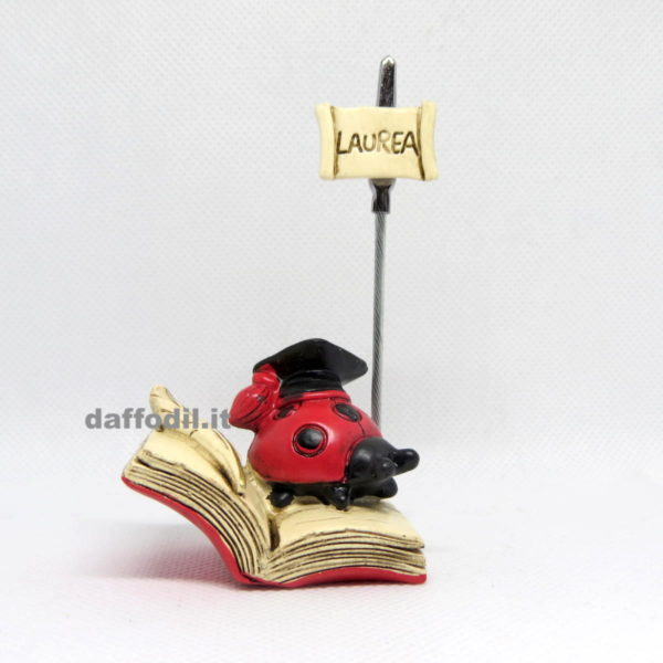 clip laurea coccinella tocco