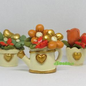 Vasetto fiori 3 soggetti