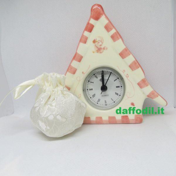 orologio casetta porcella