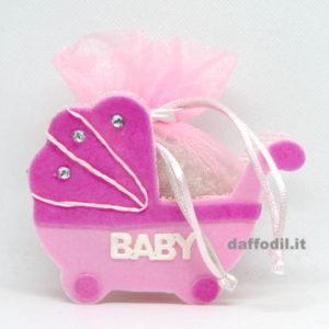 Carrozzina Baby rosa