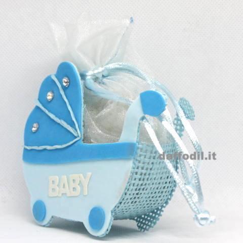 Carrozzina Baby azzurro