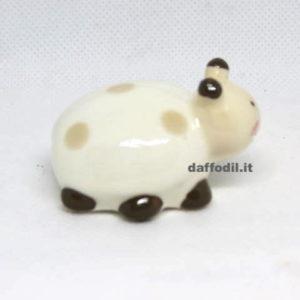 Coccinella piccola in porcellana