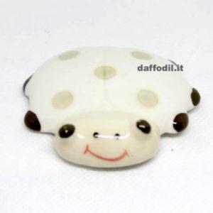 Calamita Coccinella in porcellana