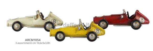 Harmony Auto da corsa in latta 3 colori assortiti