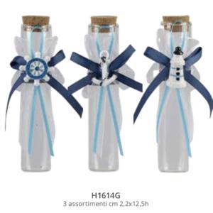 Harmony Fialetta vetro tema marino 3 assortiti