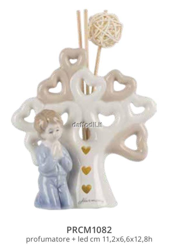 Harmony Profumatore albero della vita bimbo comunione con Led