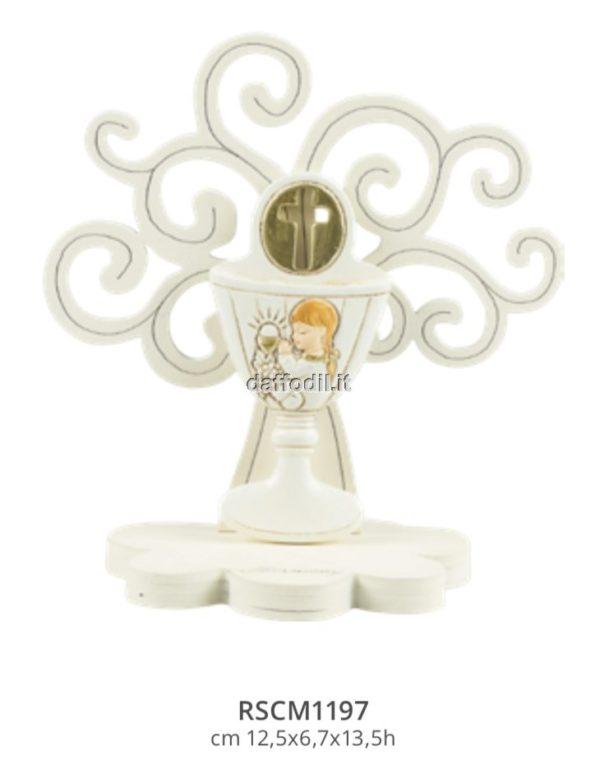 Harmony Albero della Vita legno con calice angelo bimba