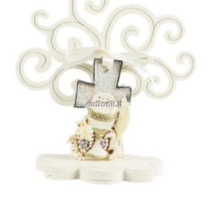 Harmony Albero della Vita legno con croce calice comunione silver