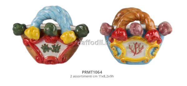 Harmony Coffe (contenitori in paglia) in ceramica 2 colori assortiti