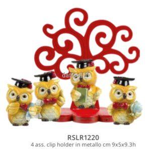 Harmony albero della vita laurea con gufo 4 soggetti assortiti