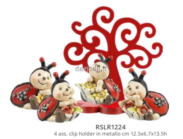 Harmony albero della vita laurea con coccinella 4 soggetti assortiti