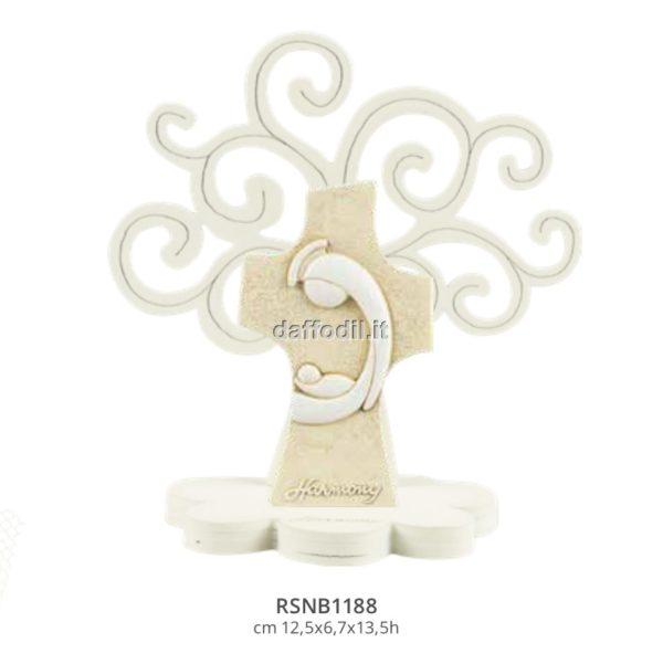 Harmony Albero della Vita con croce maternità stilizzata