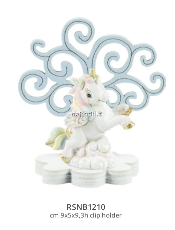 Harmony Albero della Vita legno azzurro con Unicorno