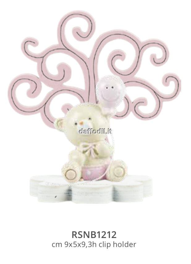 Harmony Albero della Vita legno rosa con Orsetto Smile