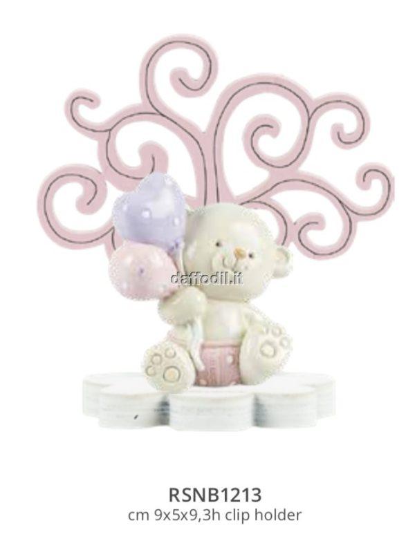 Harmony Albero della Vita legno rosa con Orsetto palloncini
