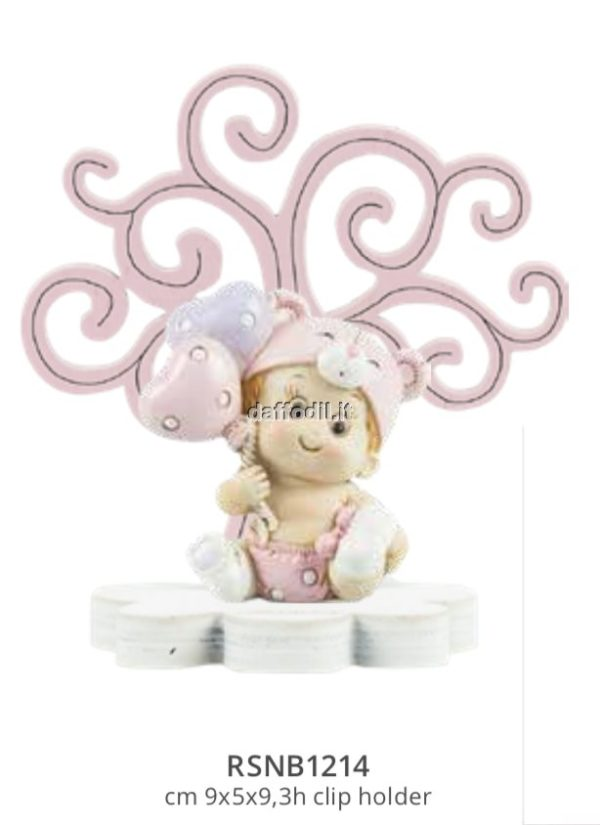Harmony Albero della Vita legno rosa con bimba palloncini