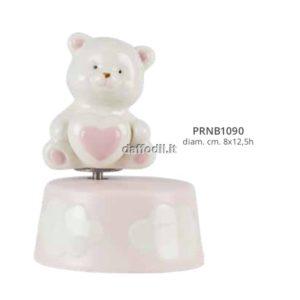 Harmony Carillon orsetto porcellana rosa