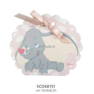 Harmony scatolina portaconfetti rosa Dumbo Wald Disney