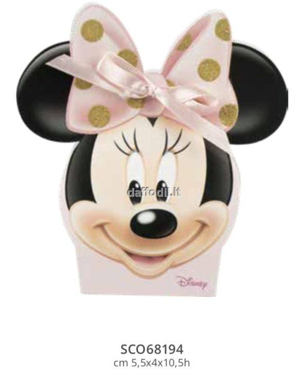 Harmony astuccio portaconfetti Topolina Wald Disney rosa