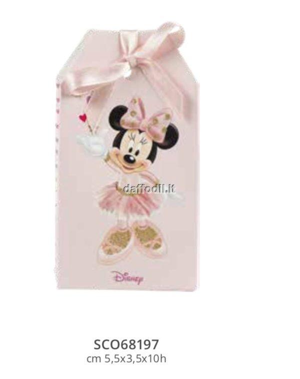 Harmony scatolina portaconfetti Topolina Wald Disney rosa