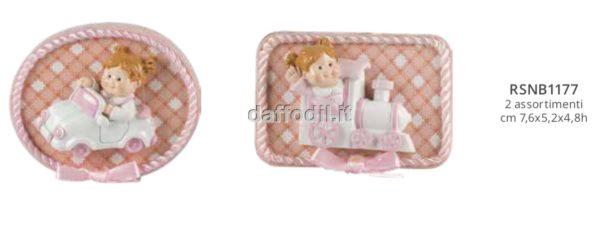 Harmony sacchetto con magnete girl trenino auto