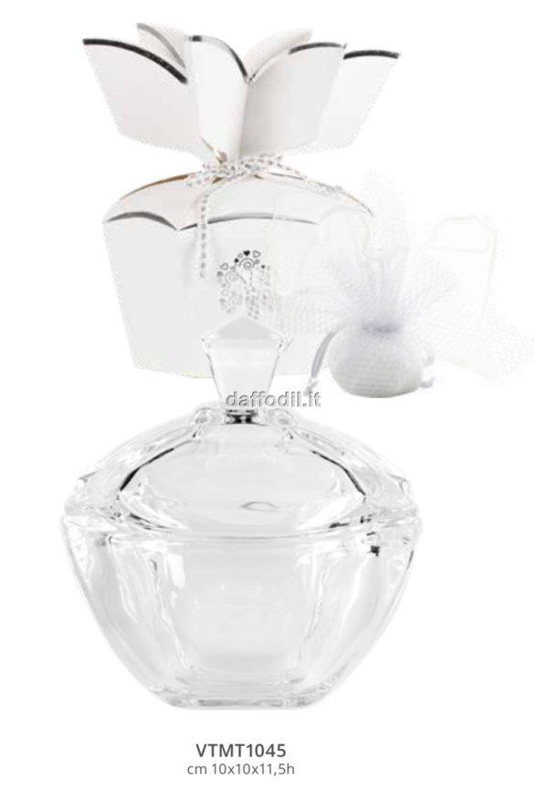 Harmony Scotola in cristallo con coperchio