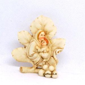 Bomboniera foglia Calice Oro