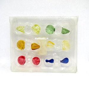 SOTTOCOSTO-Blister 6 caramelle assortite vetro