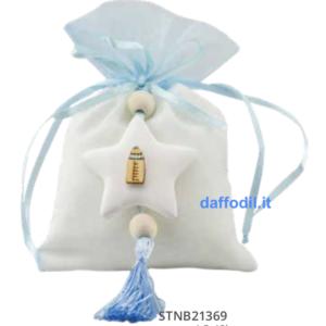 Harmony sacchetto con applicazione gessetto biberon