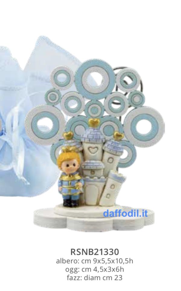Harmony Fazzoletto Clip albero della vita castello principe 3D