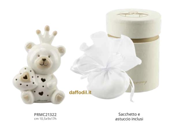 Harmony Orsetto profumatore ceramica