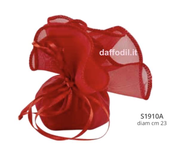 Harmony Fazzoletto raso rosso